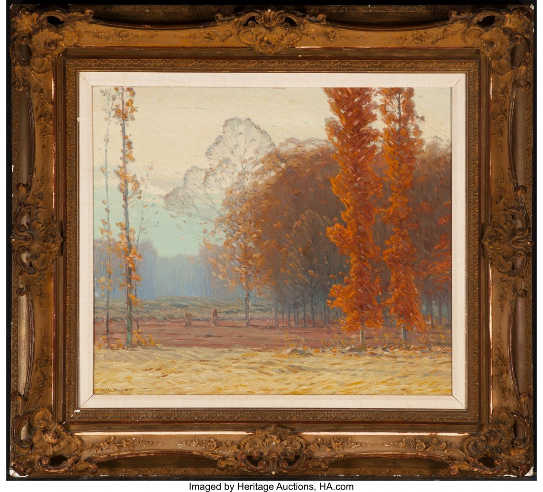 63438: Gustave Adolph Wiegand (German, 1870-1957) Fall  - 2