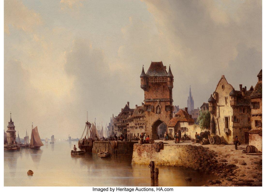 63440: Ludwig Hermann (German, 1812-1881) A Continental