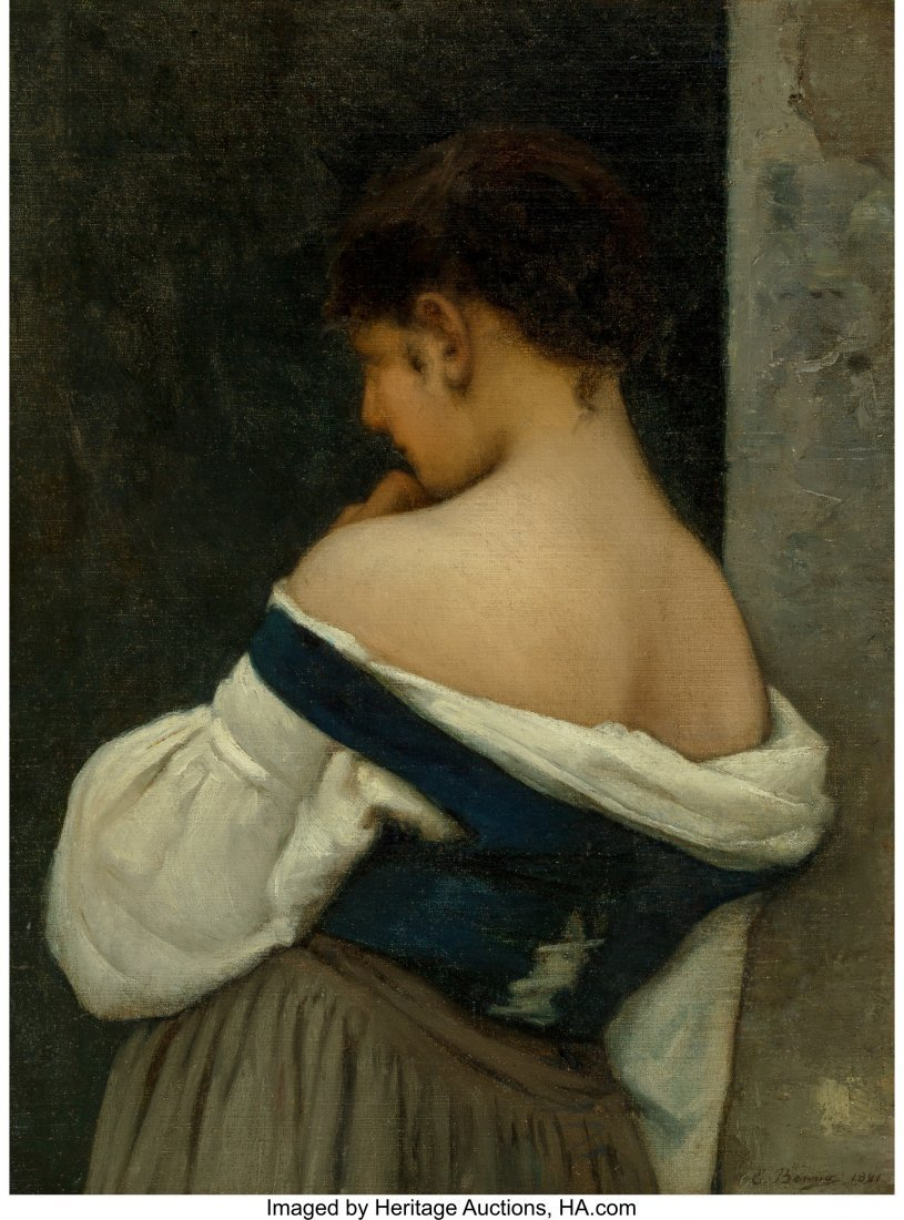 63425: Emmanuel Benner (French, 1836-1896) Reverie, 188