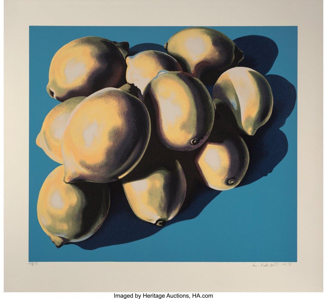63797: Lowell Nesbitt (American, 1933-1993) 10 Lemons,