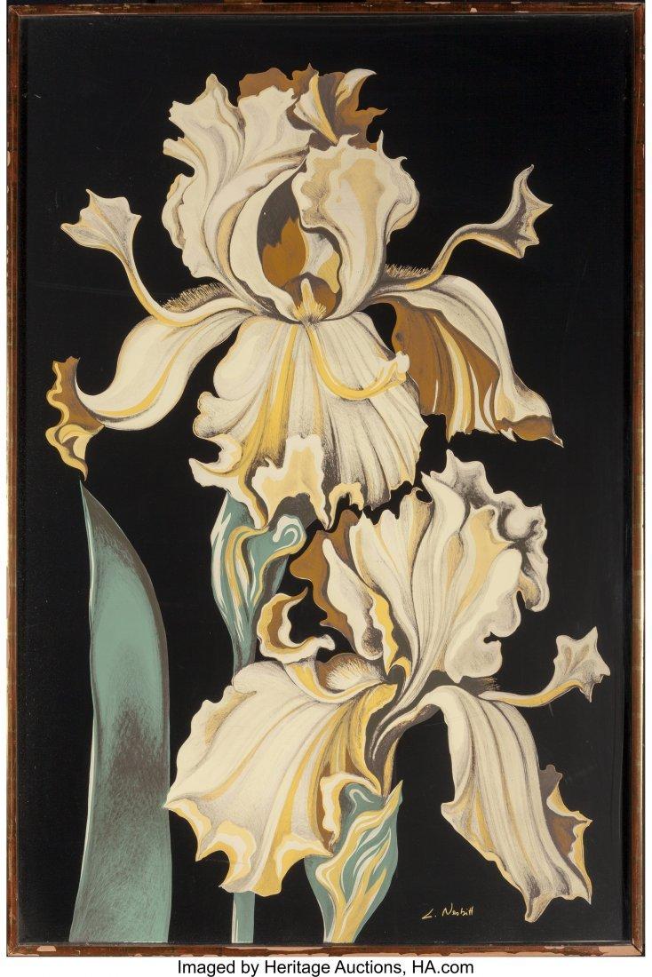 63799: Lowell Nesbitt (American, 1933-1993) Irises (Thr - 5