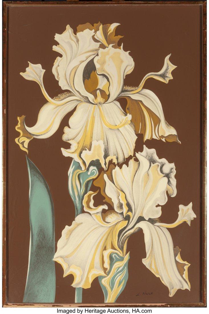 63799: Lowell Nesbitt (American, 1933-1993) Irises (Thr - 6