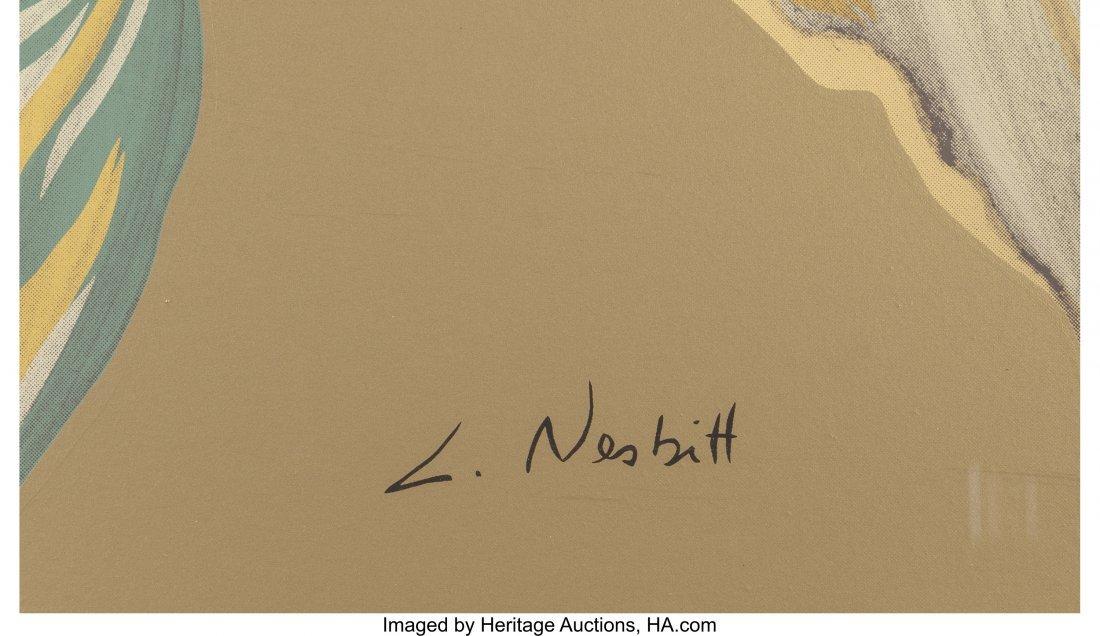 63799: Lowell Nesbitt (American, 1933-1993) Irises (Thr - 7