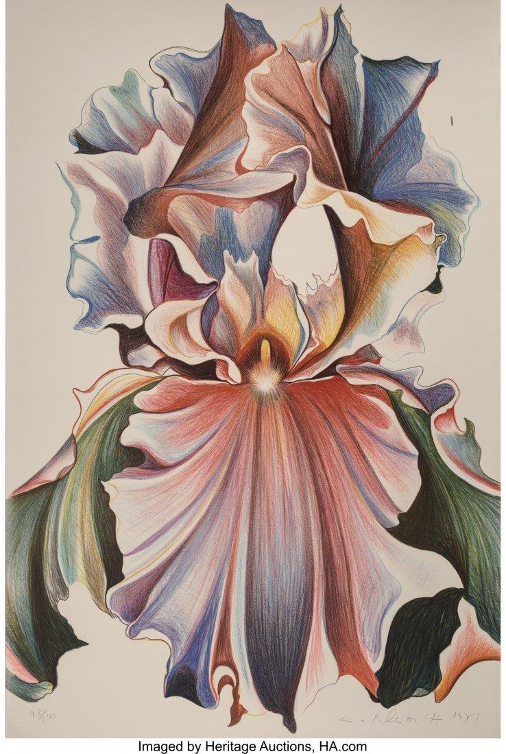 63800: Lowell Nesbitt (American, 1933-1993) Iris, 1981