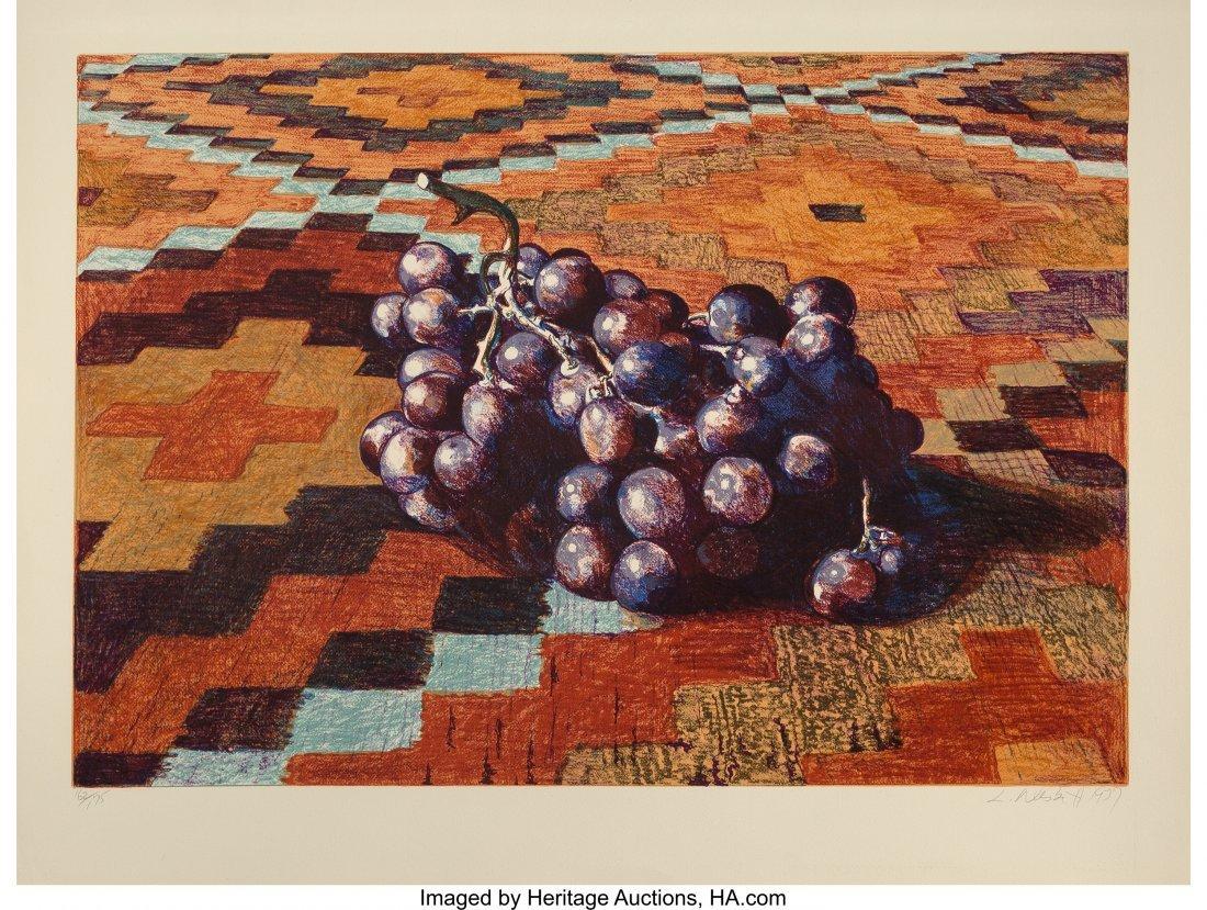 63802: Lowell Nesbitt (American, 1933-1993) Grapes on R