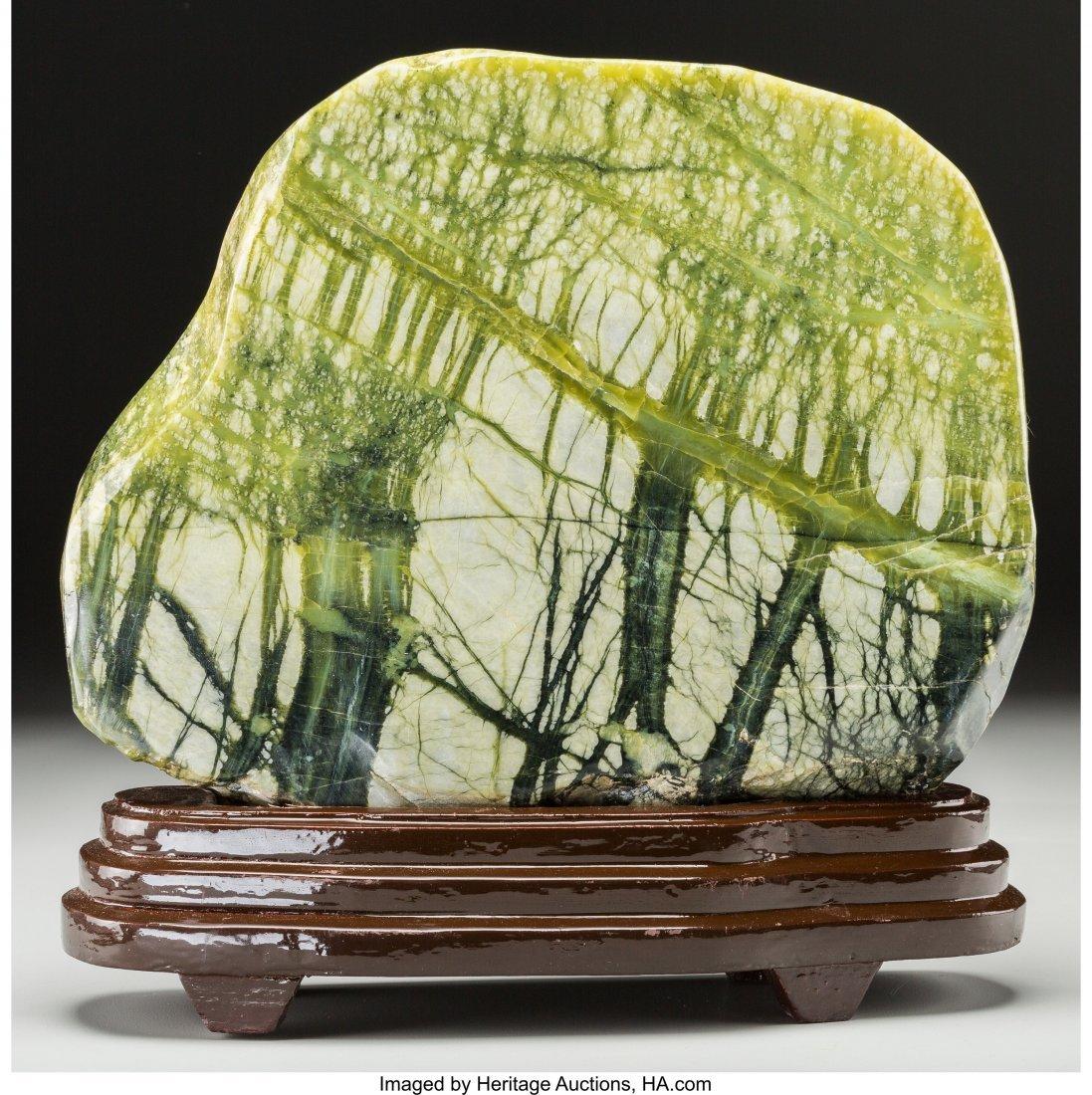 63723: A Chinese Henan Hsiuyen Scholar's Rock with Stan
