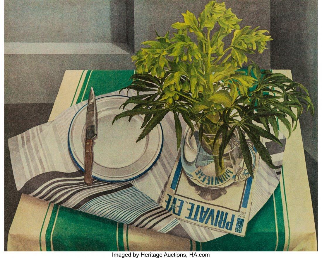 63804: Sandra Lawrence (British, b. 1950) Private Eye,