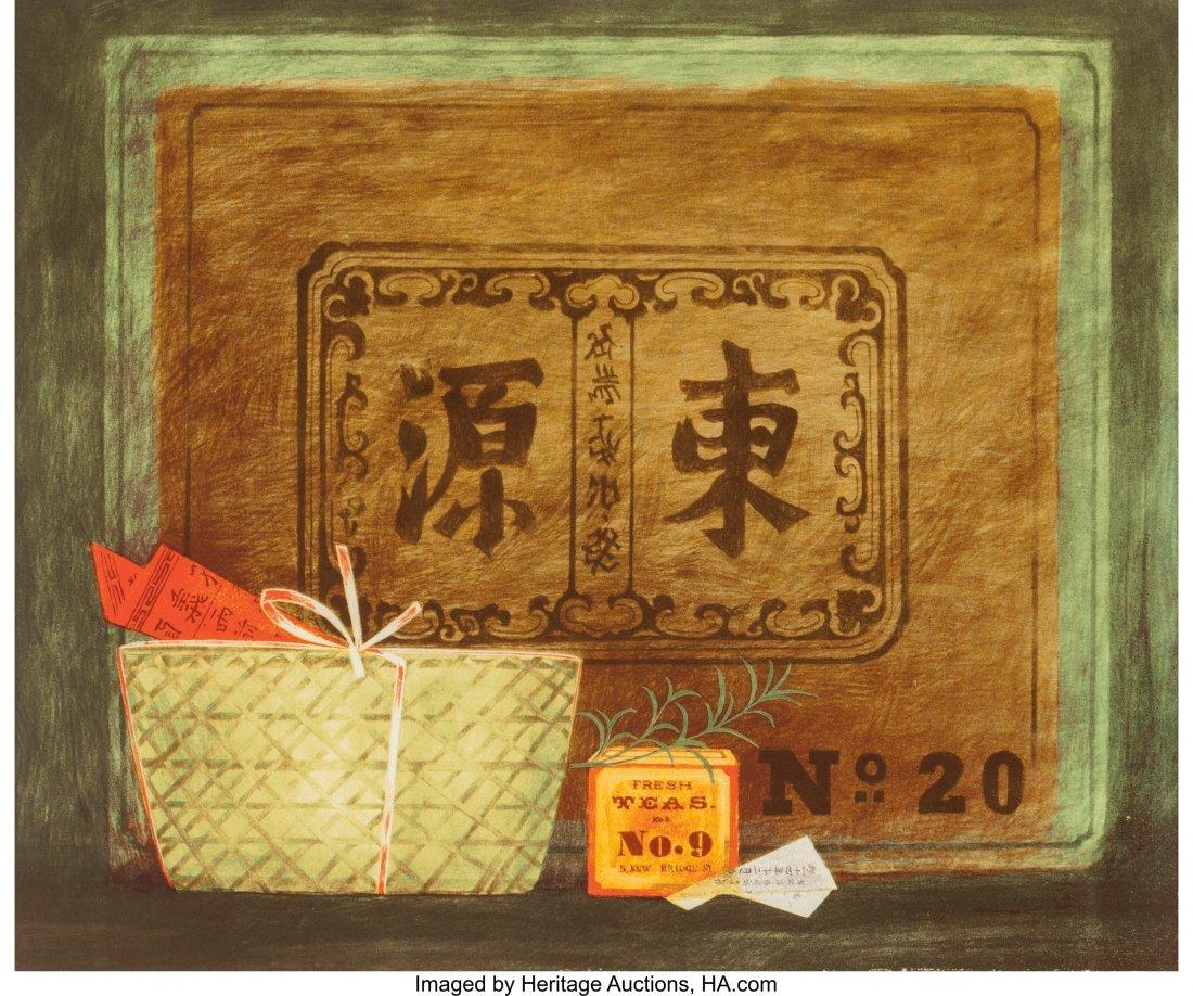 63809: Mary Faulconer (American, 1912-2011) China Tea,