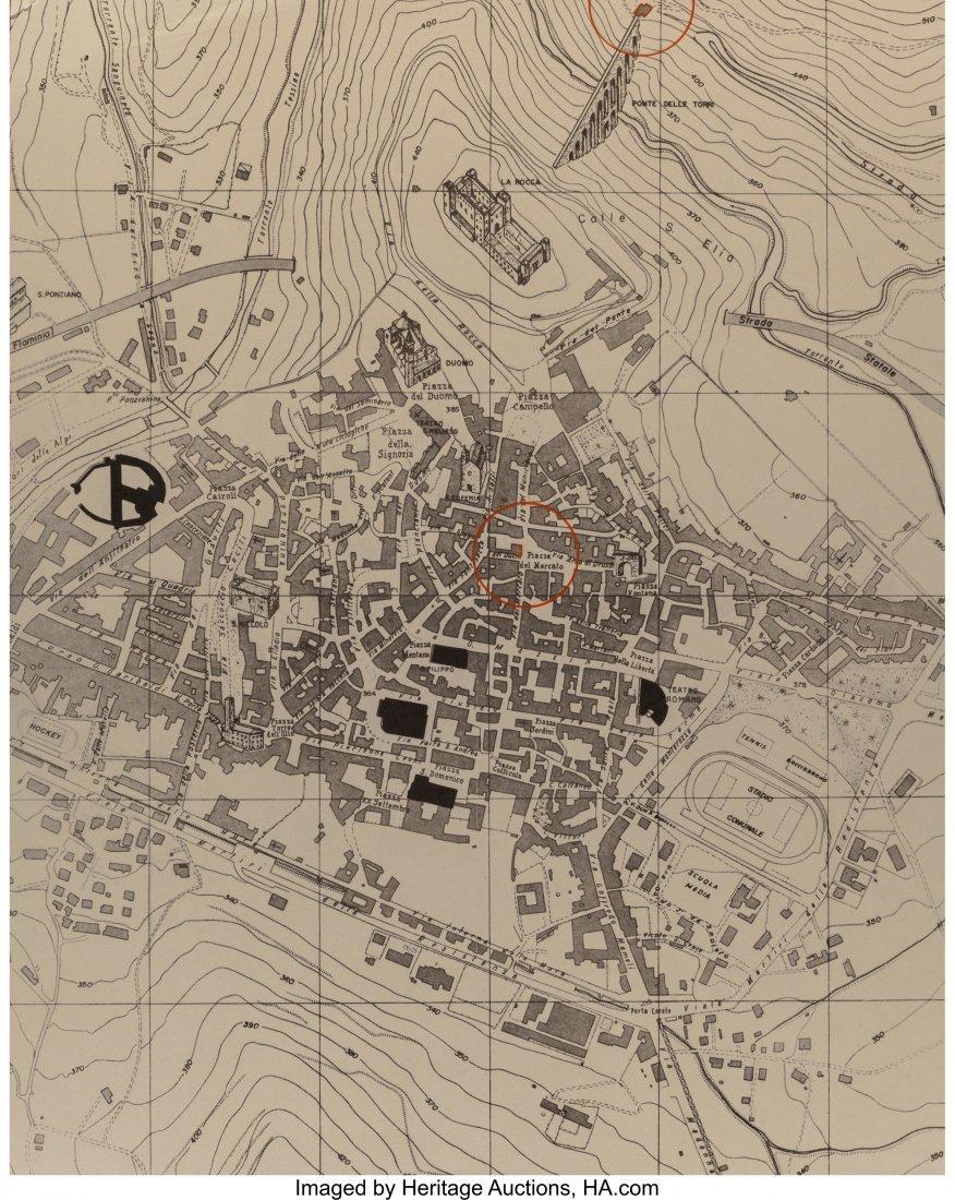 63813: Christo (American, b. 1935) Piazza del Mercato,
