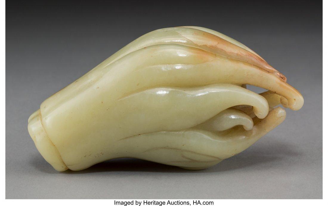 "63736: A Chinese Jade Fingered Citron ""Buddha's Hand"" F"