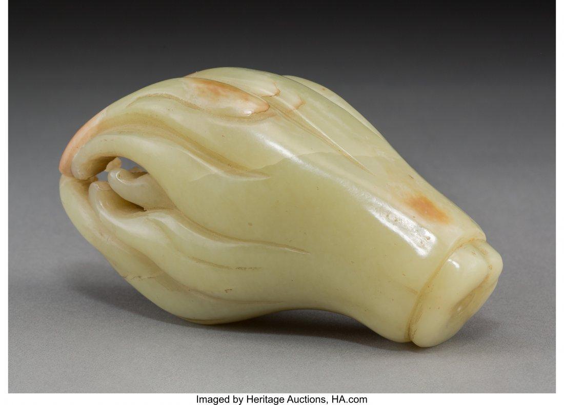 "63736: A Chinese Jade Fingered Citron ""Buddha's Hand"" F - 2"