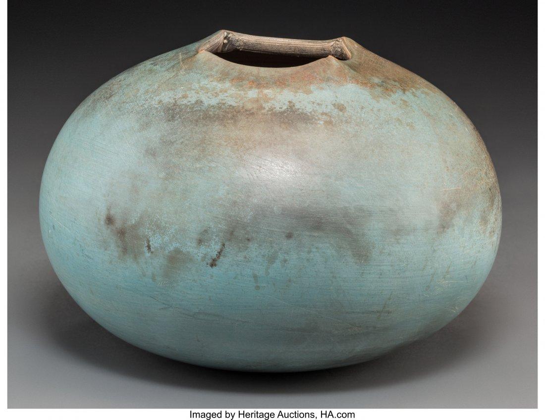 63649: An Ulrich Schmitz Glazed Ceramic Vase, 21st cent