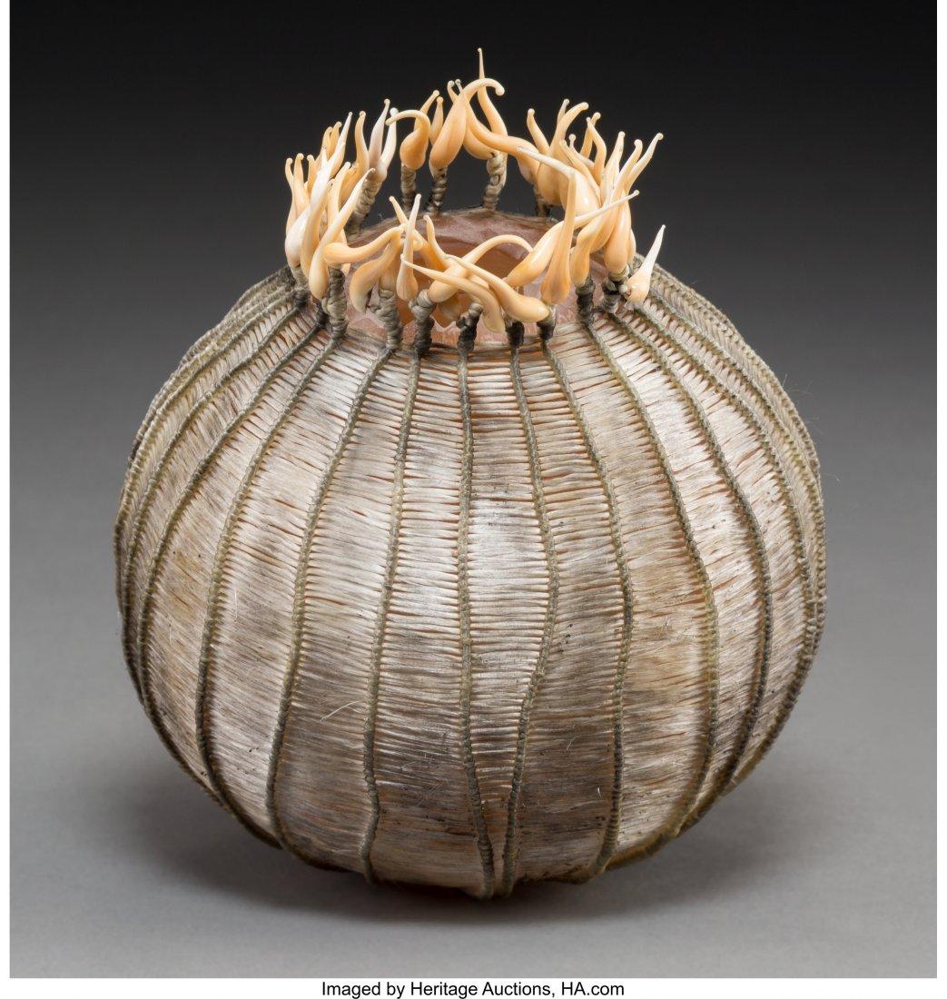 63651: Cathy Strokowsky (Canadian, b. 1967) Onion Bloom