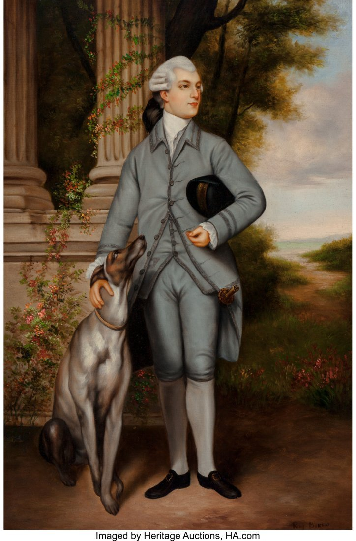 63887: After Sir Joshua Reynolds Portrait of Richard Pe