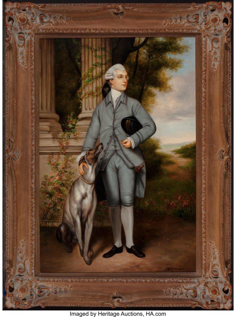 63887: After Sir Joshua Reynolds Portrait of Richard Pe - 2