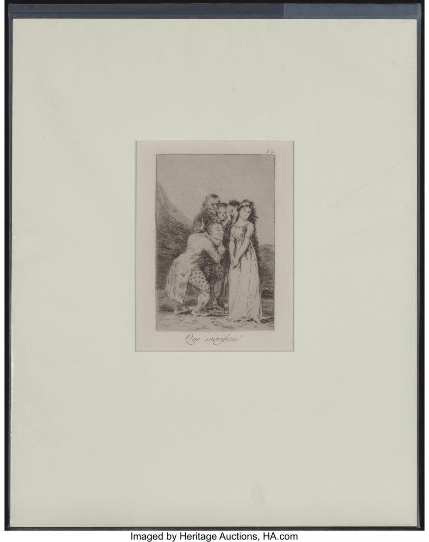 63764: After Francisco José de Goya (Spanish) Que Sacr - 2