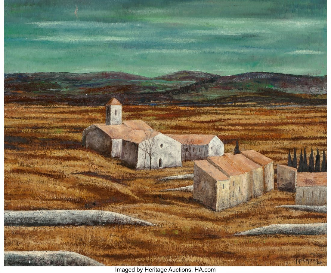 63911: Jean-Pierre Capron (French, 1921-1997) Landscape