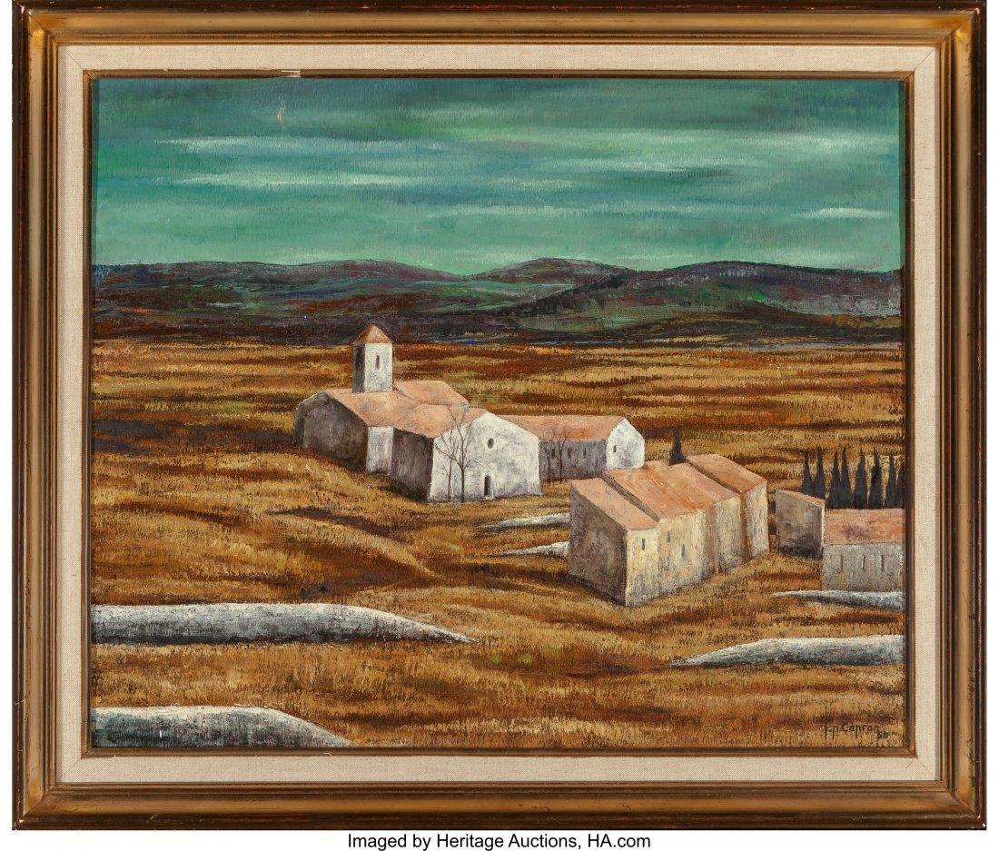63911: Jean-Pierre Capron (French, 1921-1997) Landscape - 2