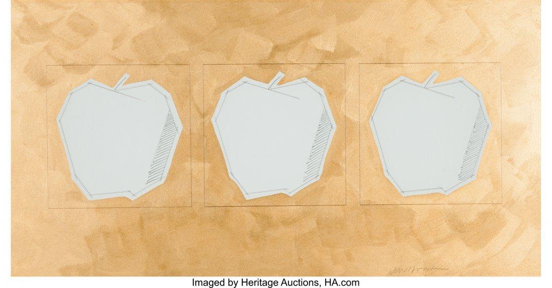 63854: Unknown Artist (20th Century) Untitled (Three Ap