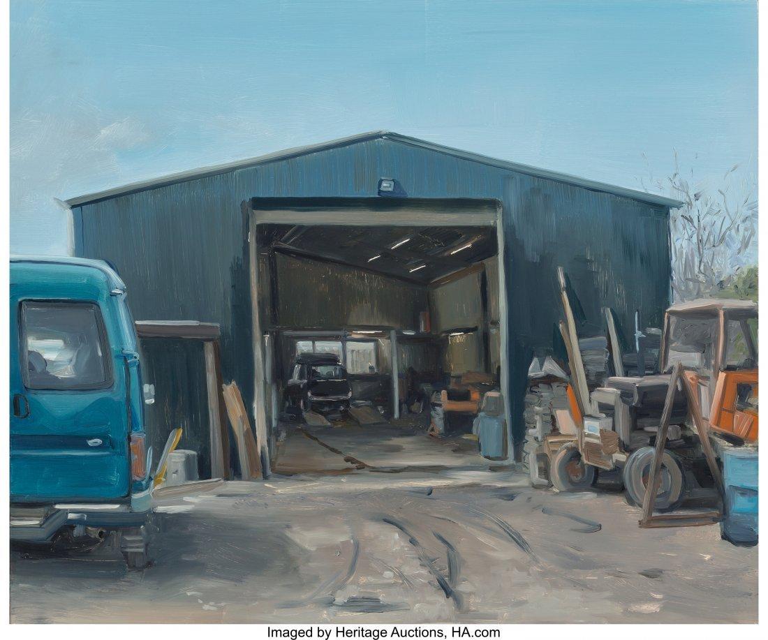 63917: Kevin Cosgrove (Irish, b. 1984) The Shop Oil on
