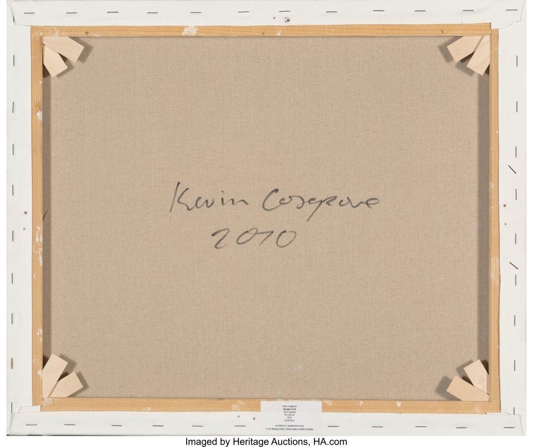 63917: Kevin Cosgrove (Irish, b. 1984) The Shop Oil on  - 2