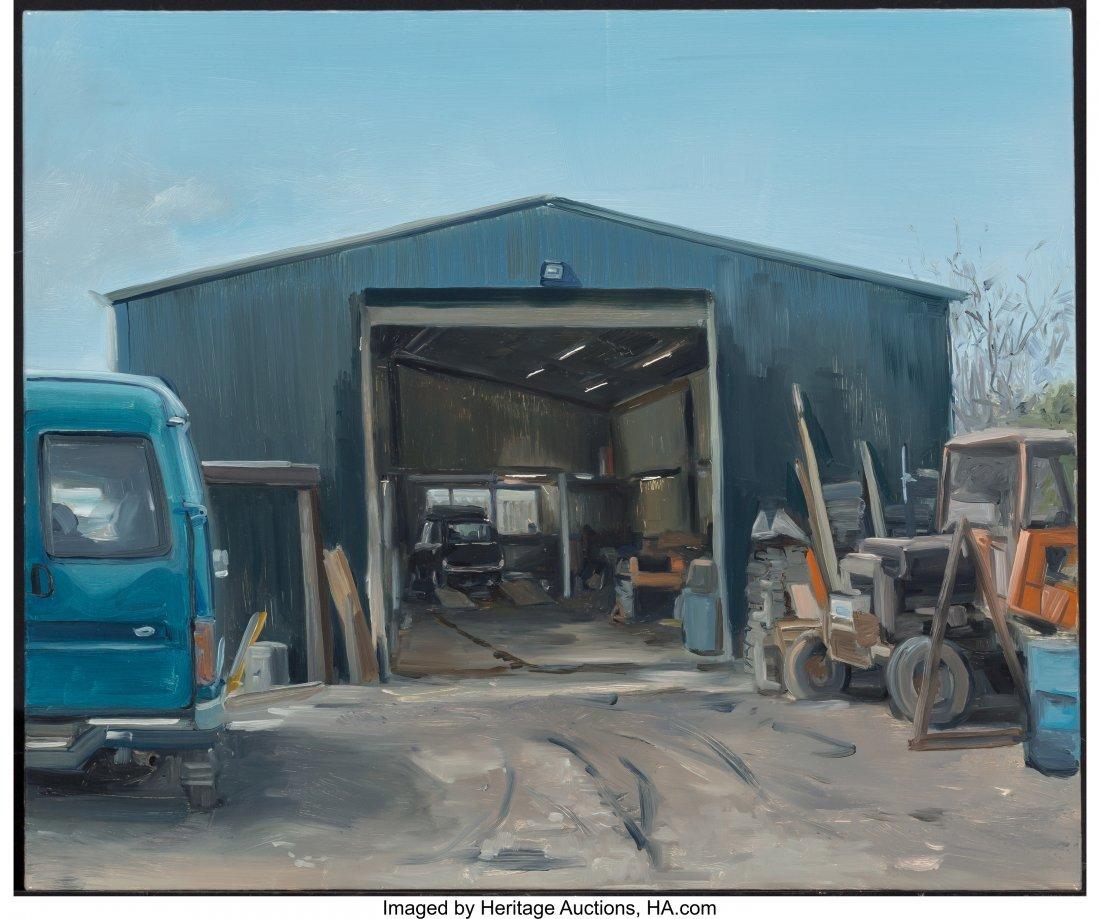 63917: Kevin Cosgrove (Irish, b. 1984) The Shop Oil on  - 3