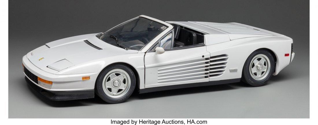 63684: A Scale Model of a Ferrari, 20th century 5-3/8 h