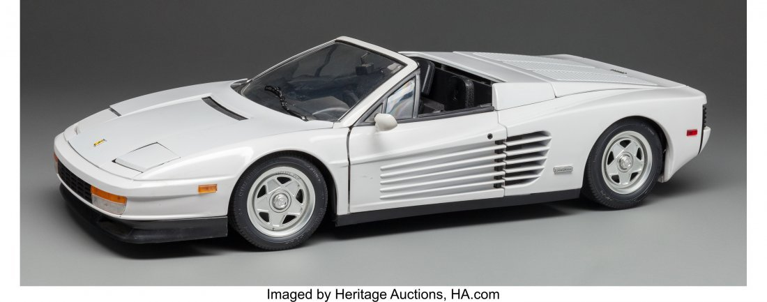 63684: A Scale Model of a Ferrari, 20th century 5-3/8 h