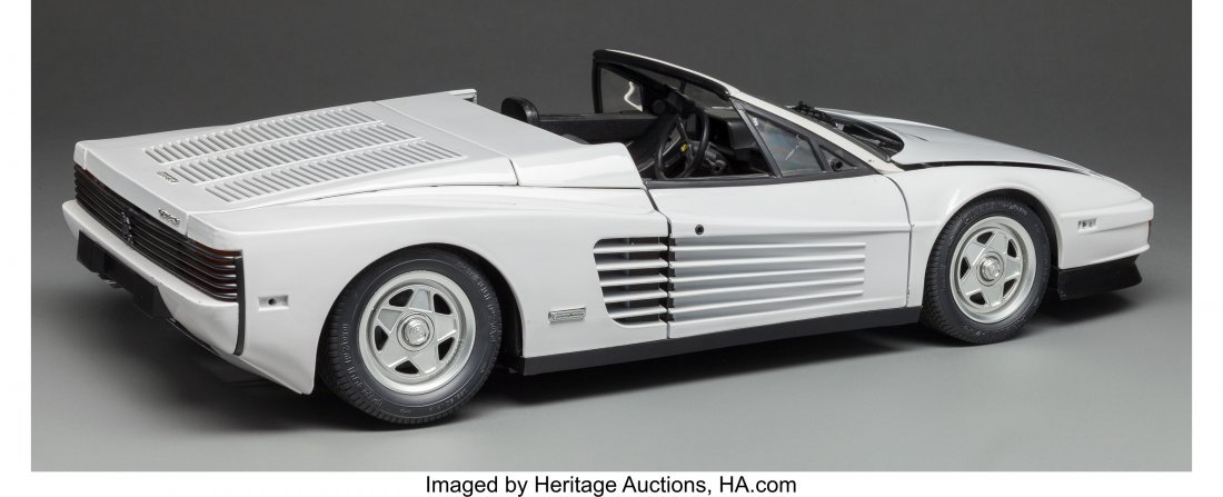 63684: A Scale Model of a Ferrari, 20th century 5-3/8 h - 2