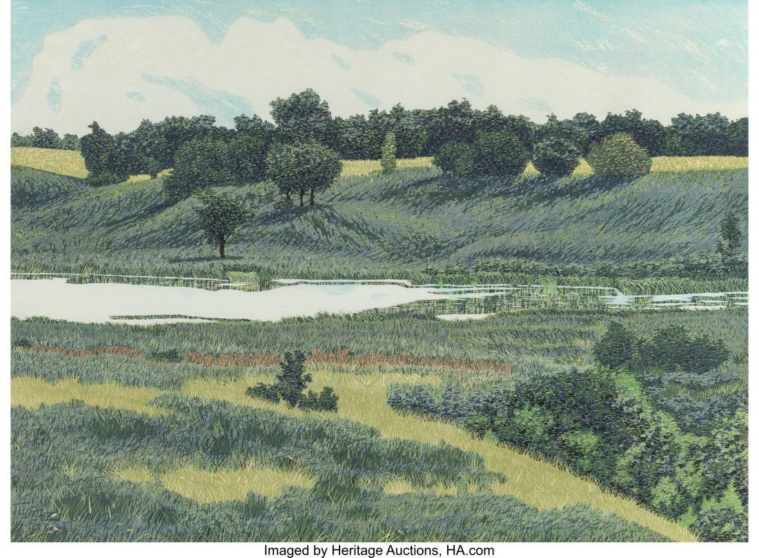 63774: Gordon Mortensen (American, b. 1938) Meadowland,