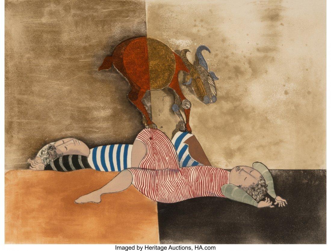 63860: Graciela Rodo Boulanger (Bolivian, b. 1935) Bill