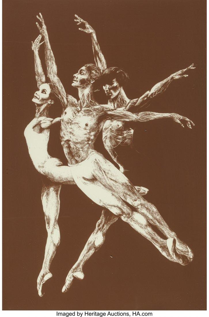 63781: G. H. Rothe (German, 1935-2007) Pas de Trois, 19