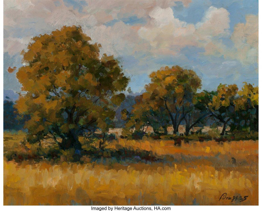 63929: Douglas (American, 20th Century) Autumn Landscap