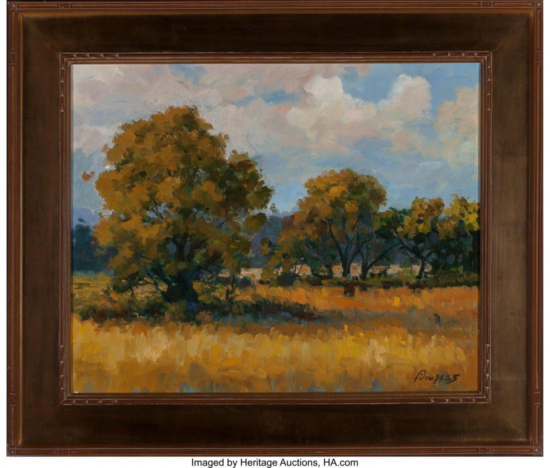 63929: Douglas (American, 20th Century) Autumn Landscap - 2