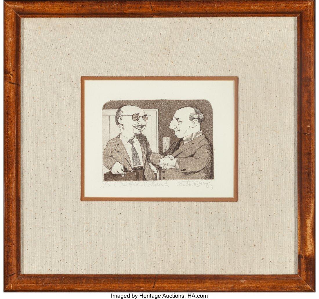 63783: Charles Bragg (American, b. 1931) A Set of Five  - 2