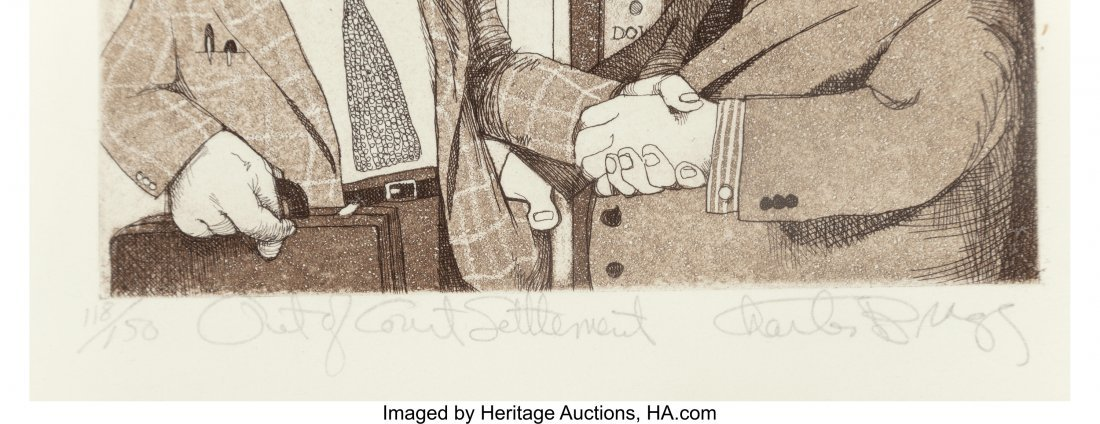 63783: Charles Bragg (American, b. 1931) A Set of Five  - 3
