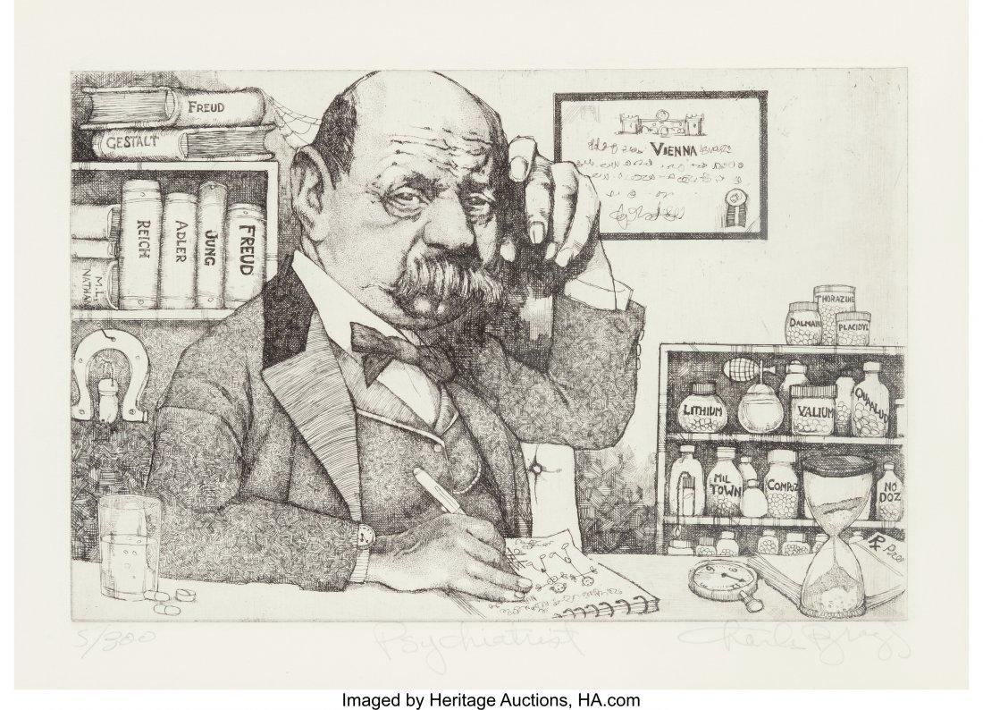 63783: Charles Bragg (American, b. 1931) A Set of Five  - 4
