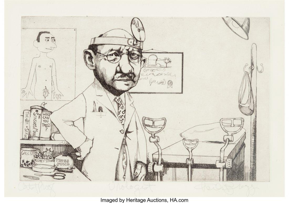 63783: Charles Bragg (American, b. 1931) A Set of Five  - 7