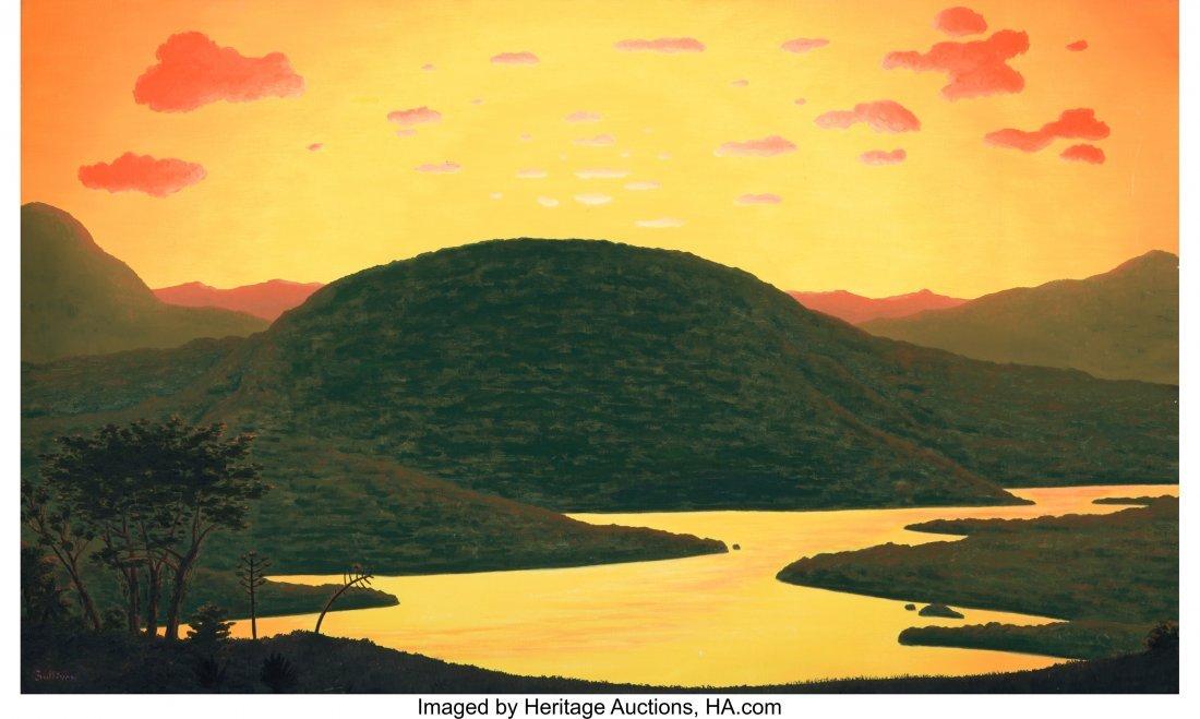 63869: Bill Sullivan (American, 1942-2010) Tropical Tan