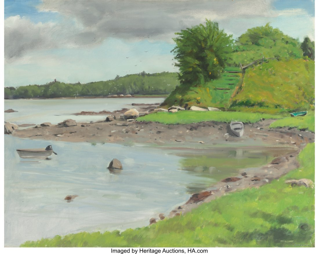 63930: Ray Ciarrochi (American, 20th Century) Cove - Th