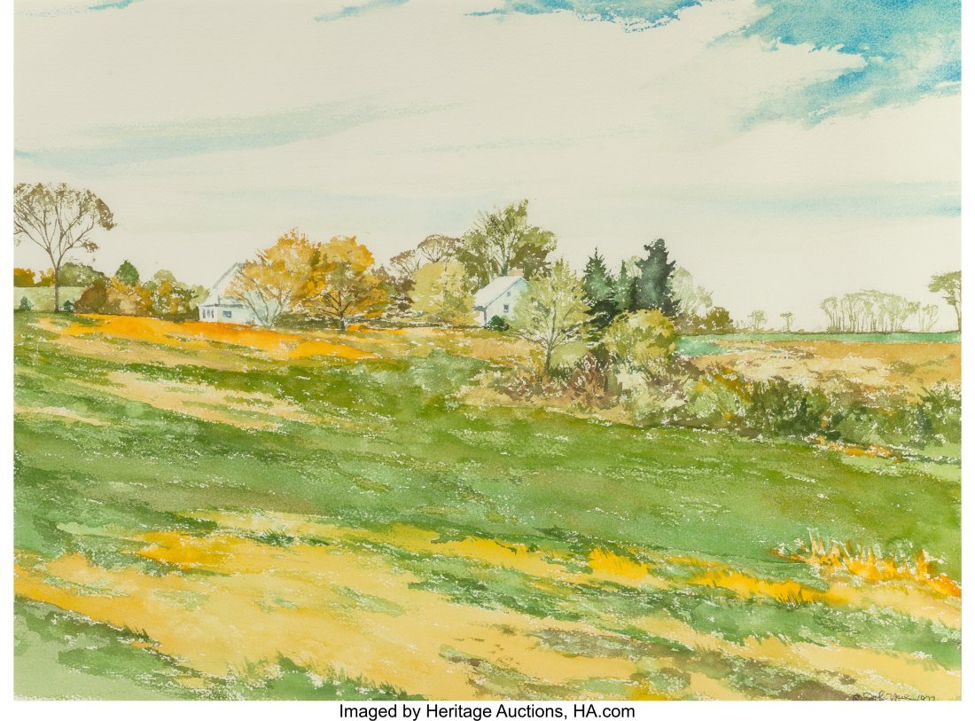 63931: John Yue (American, 20th century) Summer's Meado