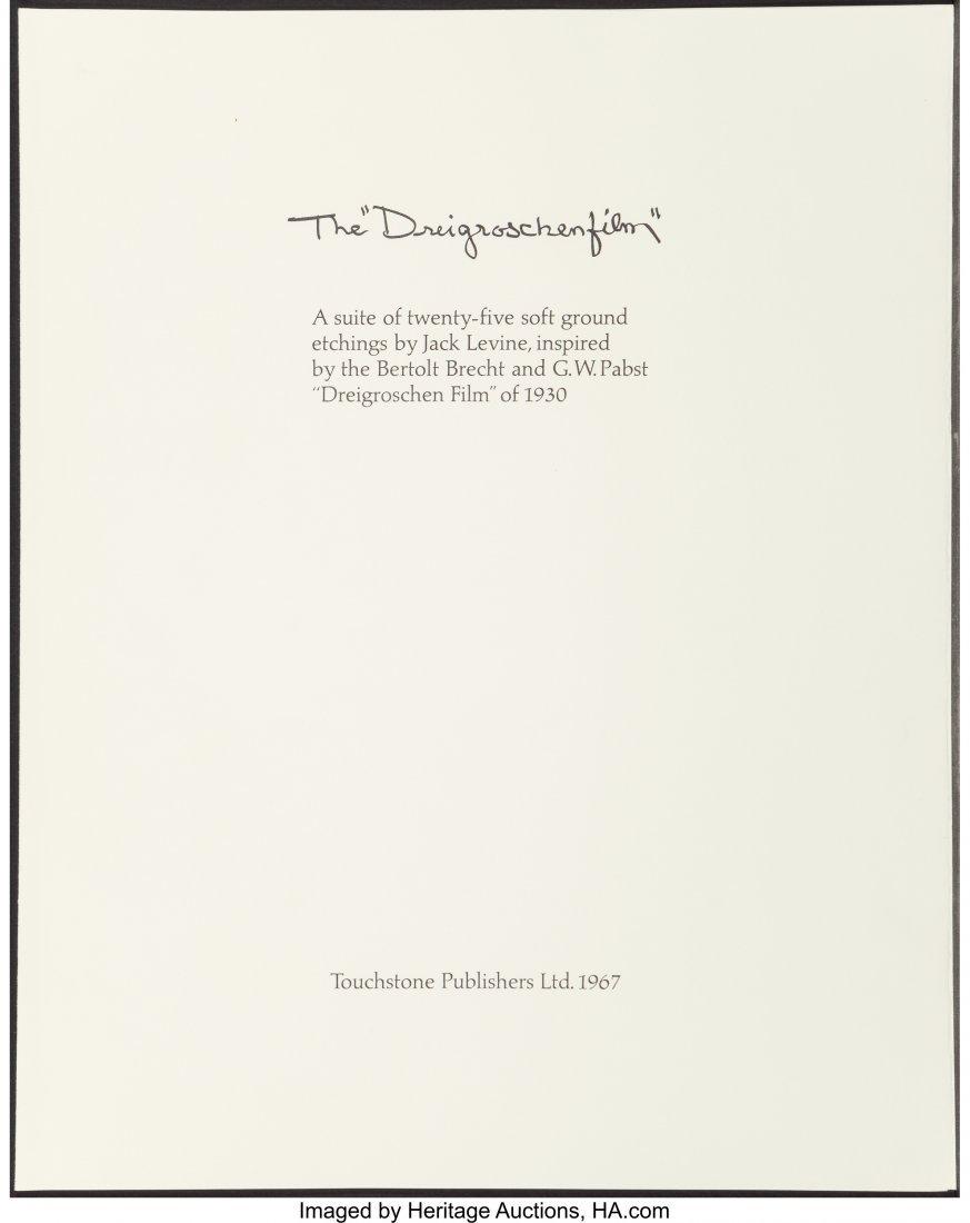 """63785: Jack Levine (1915-2010) The """"Driegroschen Film"""", - 2"""