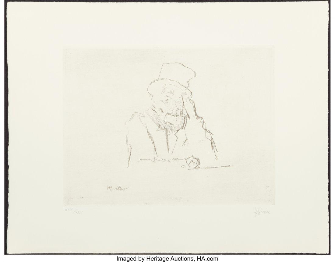 """63785: Jack Levine (1915-2010) The """"Driegroschen Film"""", - 5"""