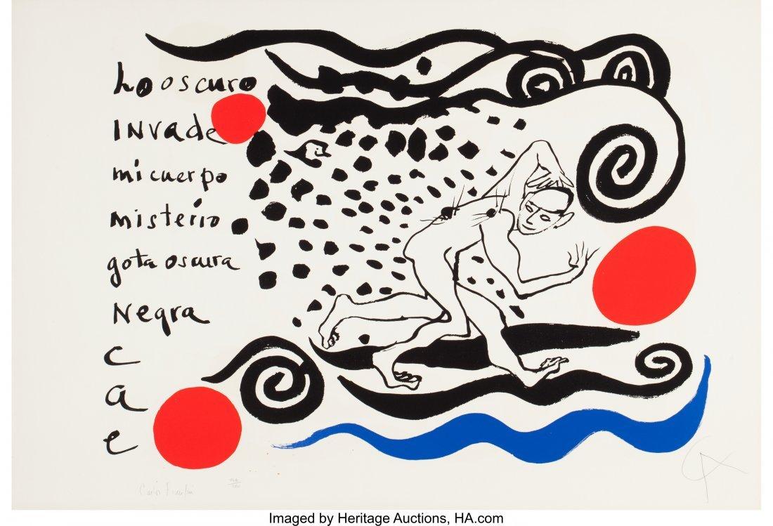 63787: Alexander Calder (American, 1898-1976) Lo oscuro