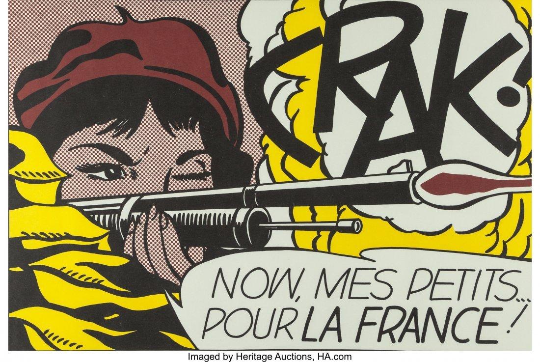 63790: After Roy Lichtenstein Crack!, 1963-64 Lithograp