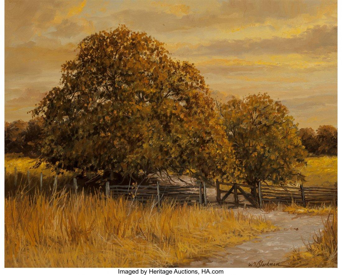 63938: William Henry Blackman (American, b. 1930) Dry S