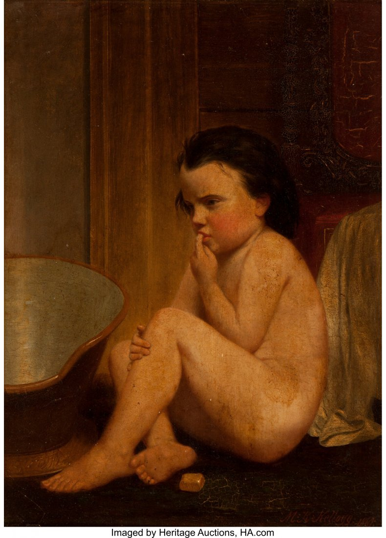 63941: Miner Kilbourne Kellogg (American, 1814-1889) Po