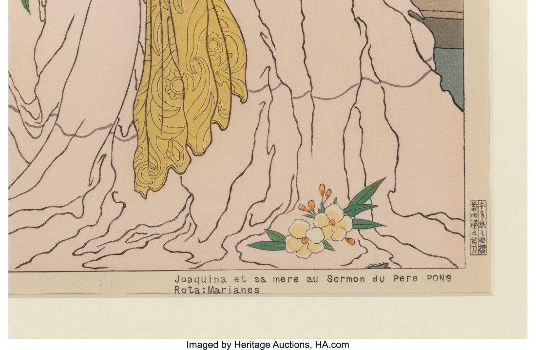 63881: Paul Jacoulet (French, 1902-1960) Les Vieux Manu - 7