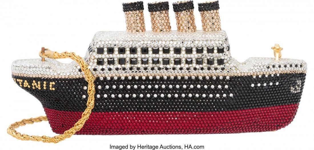 58054: Kathrine Baumann Full Bead Silver, Black & Red C