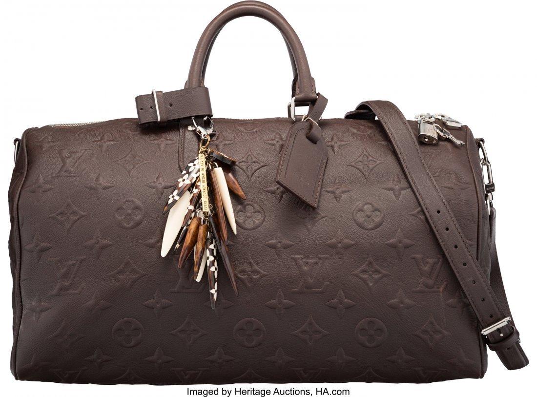 58057: Louis Vuitton x EDUN Limited Edition Brown Monog